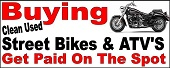 Buying Used Bikes ATV