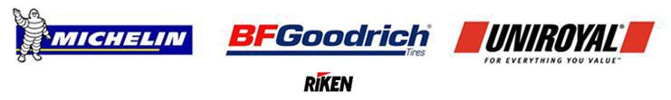 We carry Michelin®, BFGoodrich®, Uniroyal®, and Riken!