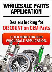 Wholesale Parts Application - Dealers looking for discount on OEM parts.