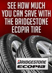 See how much you can save with the Bridgestone Ecopia tire!
