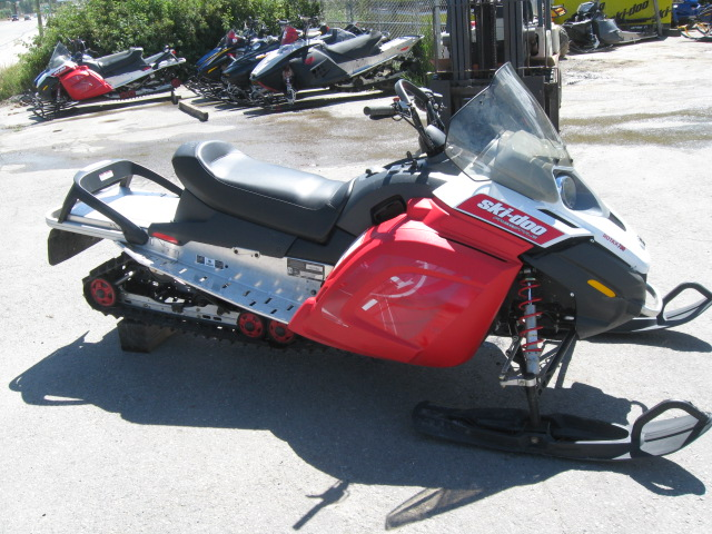 2008 Ski Doo Freestyle Back Country 550f