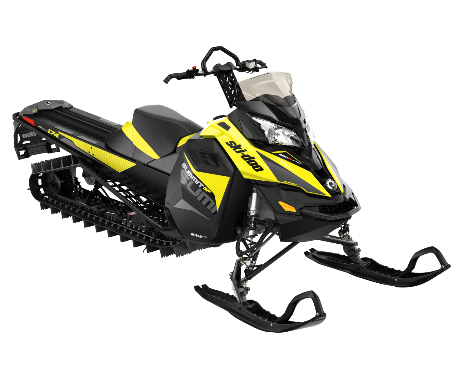 2017 Ski Doo Summit Sp 800r E-tec 174 Es Yellow/black