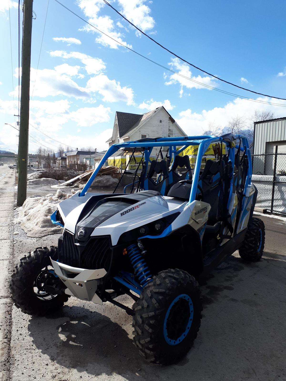2017 Can-Am ATV Maverick™ Max X® Ds Turbo