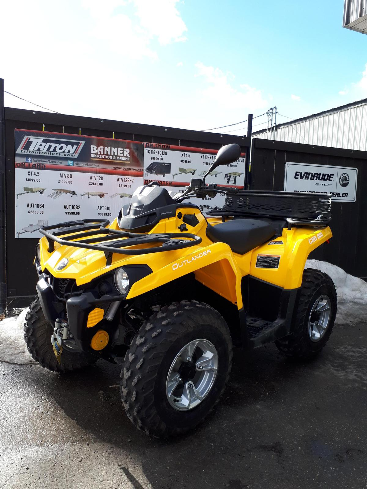 2017 Can-Am ATV Outlander™ Dps™ 570