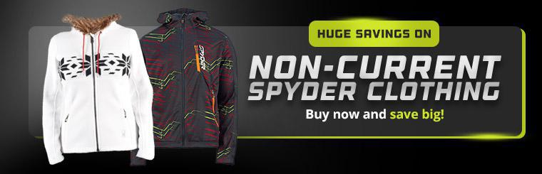 Huge Savings on Non-Current Spyder Clothing: Buy now and save big!