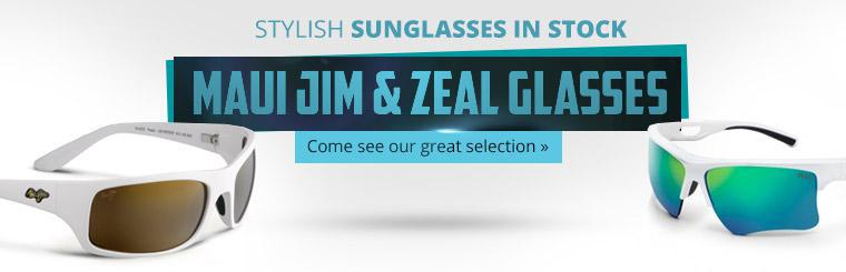 Stylish Sunglasses in Stock: Come see our great selection!