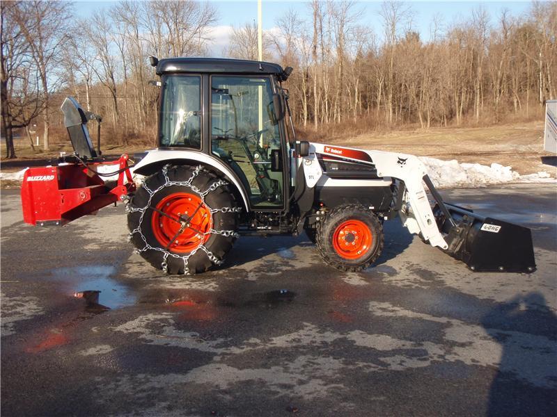 Bobcat CT440 Snow Removal Tractor Teixeira's Polaris Hyde Park, NY