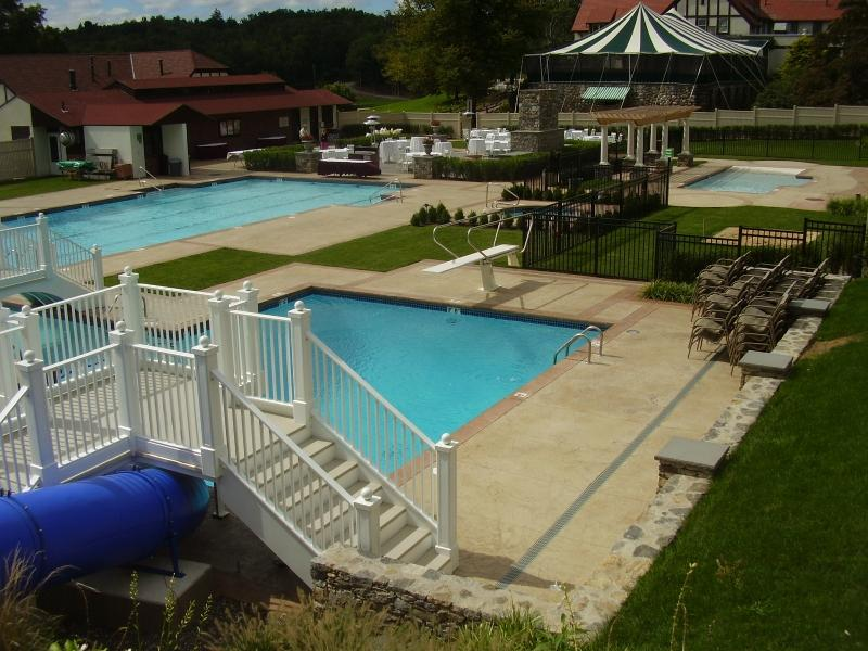 Commercial Gunite Pool - Aquatime Pools & Spas Inc.