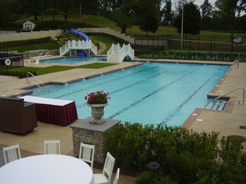 Commercial Gunite Pool - Aquatime Pools & Spas Inc.