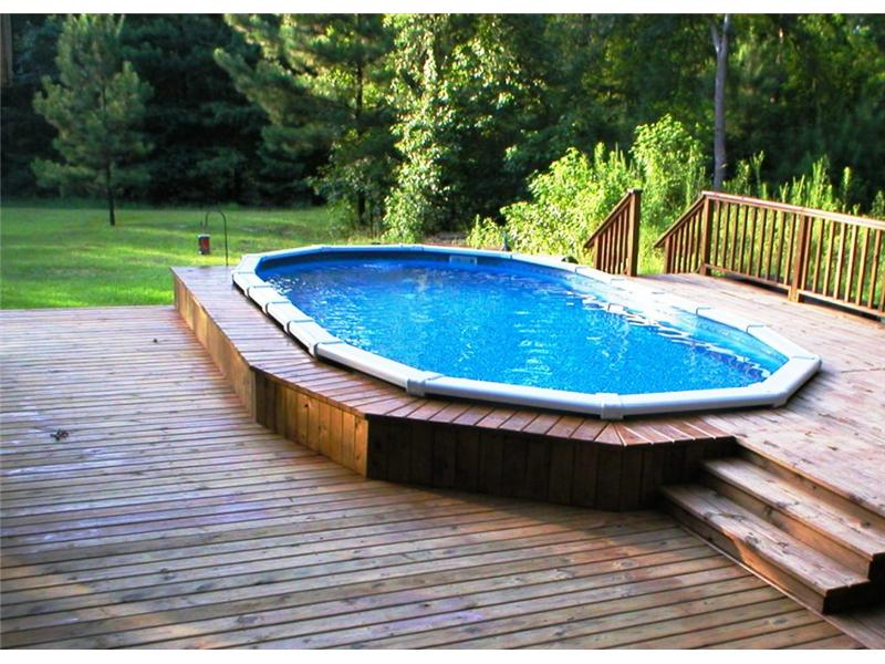 above ground pool photo gallery photo gallery backyard oasis livingston tx 800 657 1283 - In Ground Pool Design Ideas
