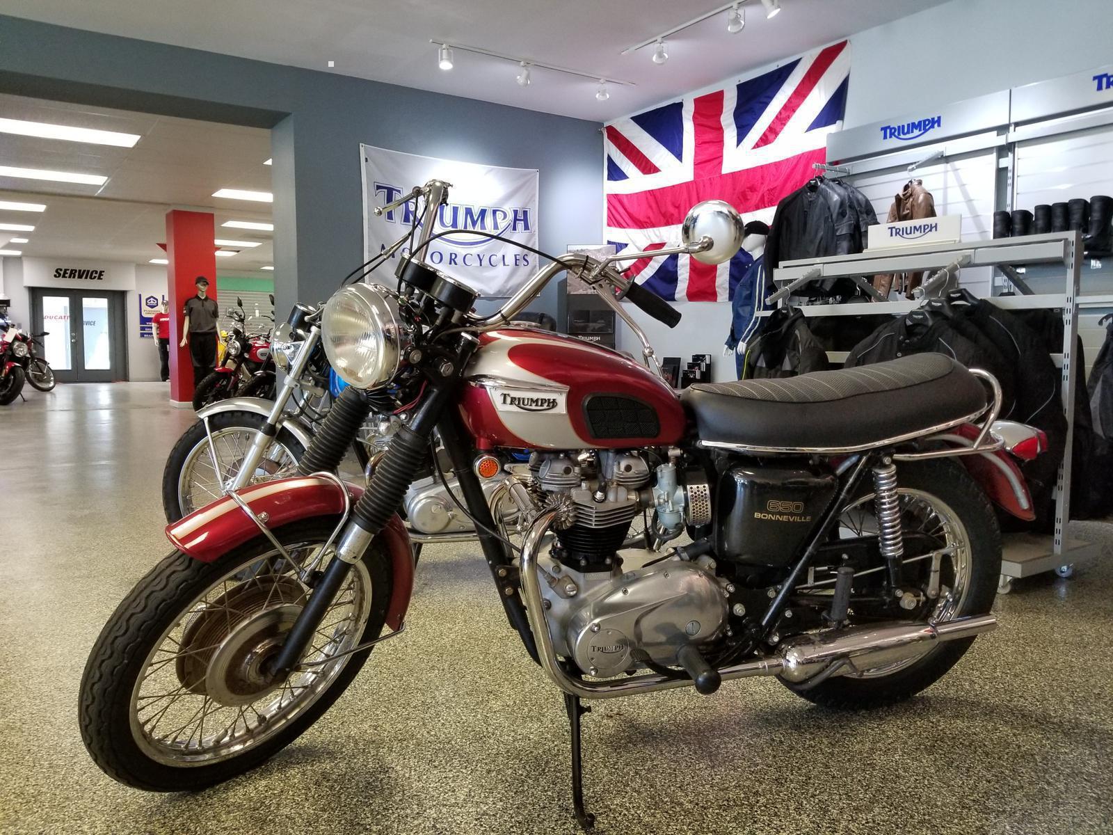 1970 Triumph T120r For Sale In Pensacola Fl Dd Cycles Inc