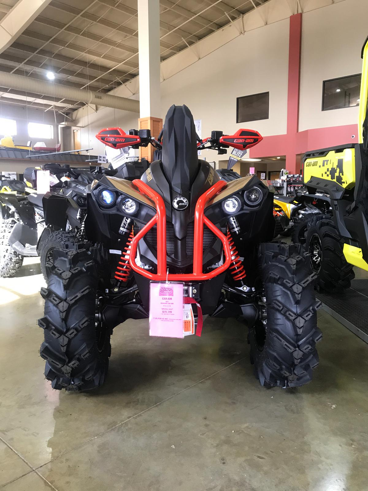 Can Am Renegade For Sale >> 2019 Can Am Renegade X Mr 1000r