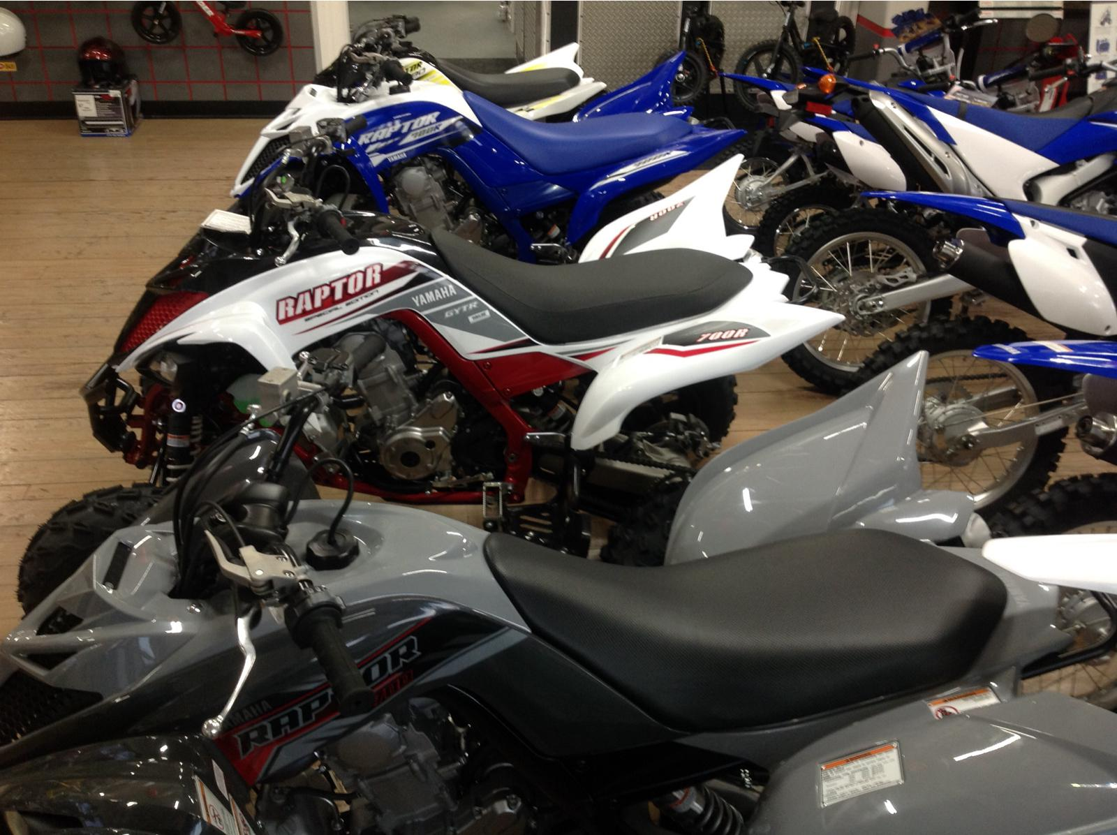 2018 Yamaha RAPTOR 700R SE 9