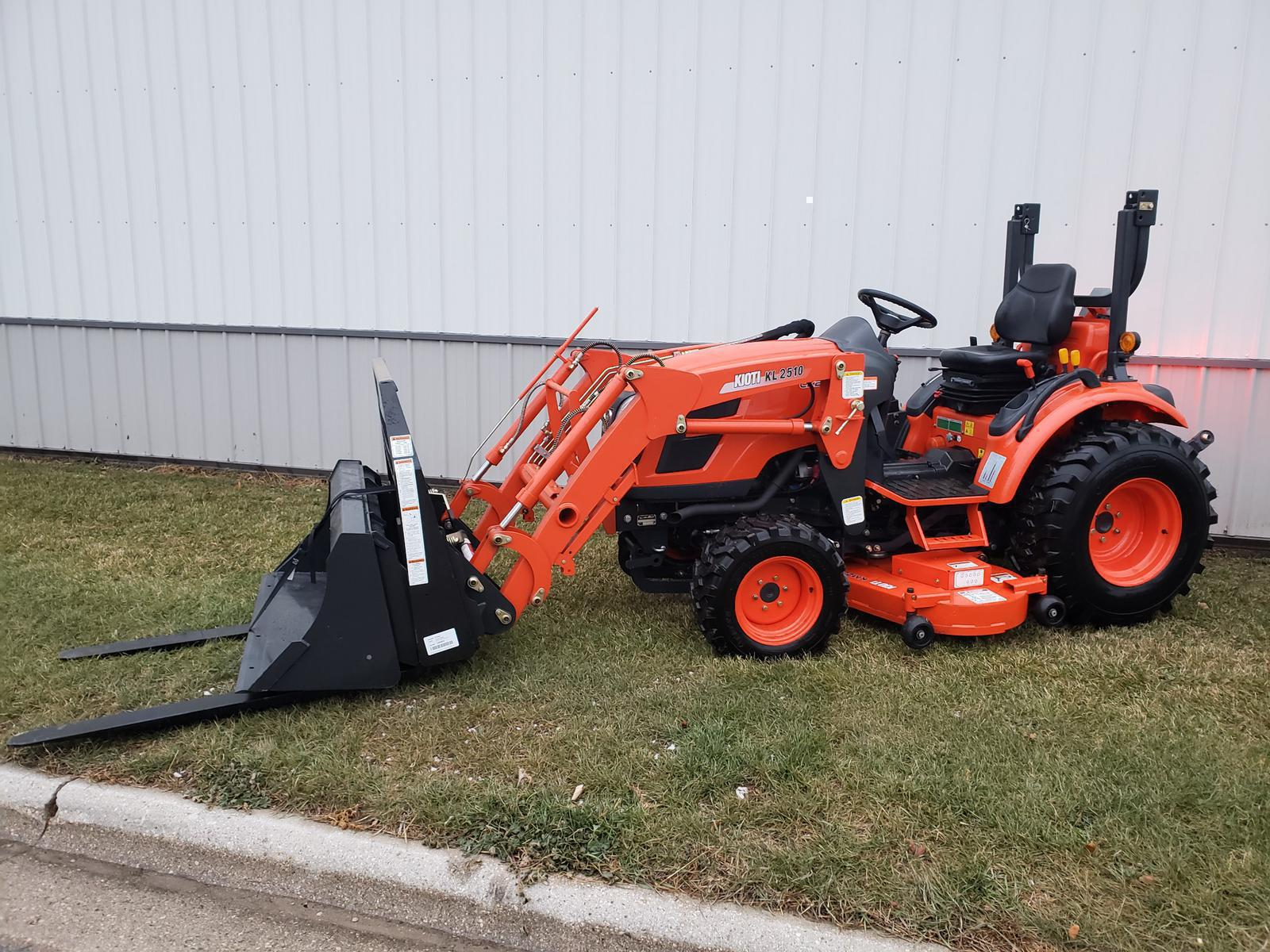 Inventory from KIOTI and Midsota Luxemburg Implement Co