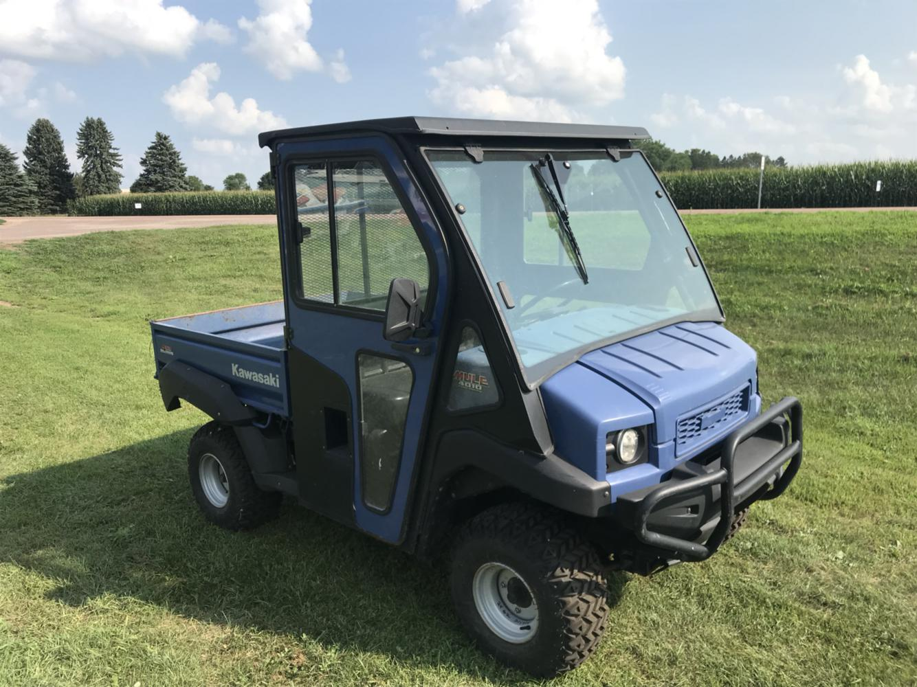 2010 Kawasaki MULE 4010 HARD CAB WITH HEATER