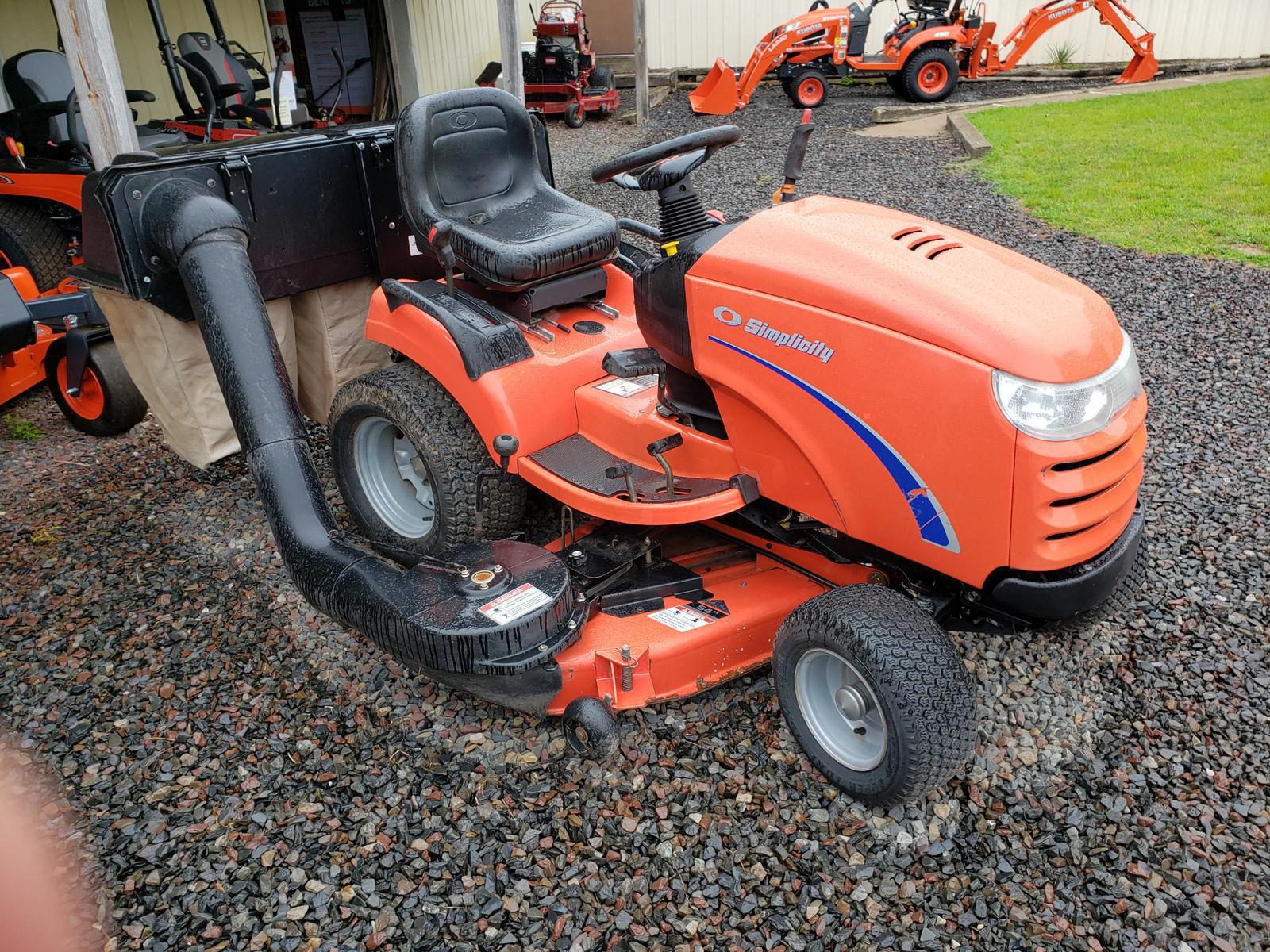 Inventory from Kubota and Simplicity Pipersville Garden