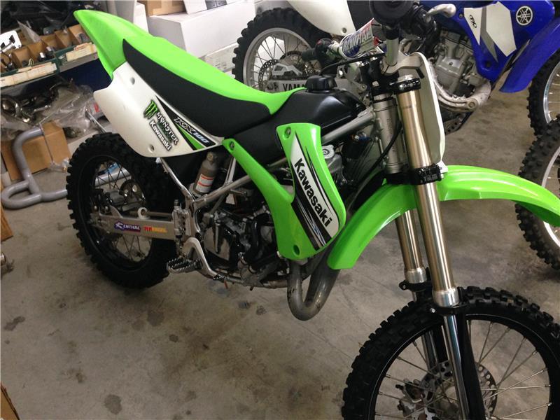 Kawasaki Kx For Sale Idea Di Immagine Del Motociclo