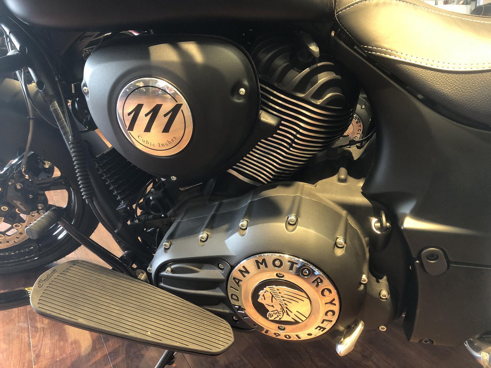 2018 Indian Motorcycle Chieftain Dark Horse - Demonstrator Model