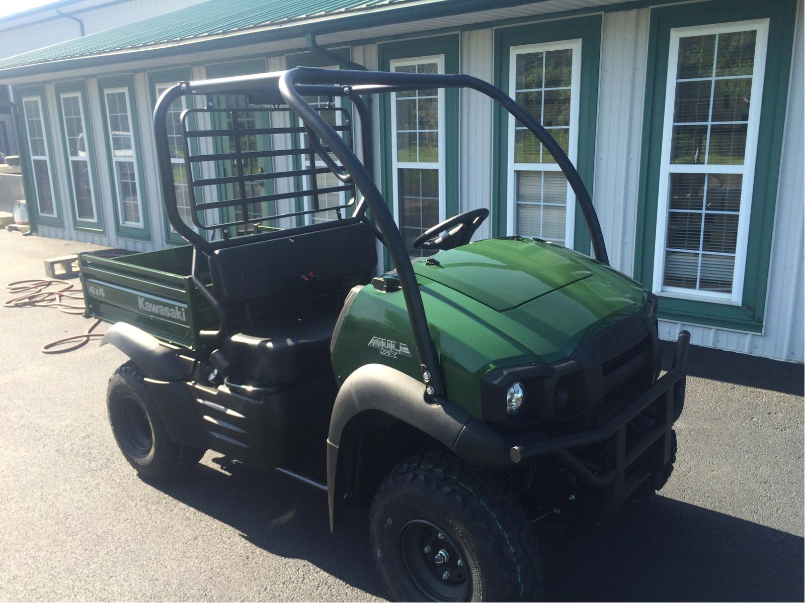 2017 kawasaki mule sx 4x4 green for sale in herrin, il | good guys