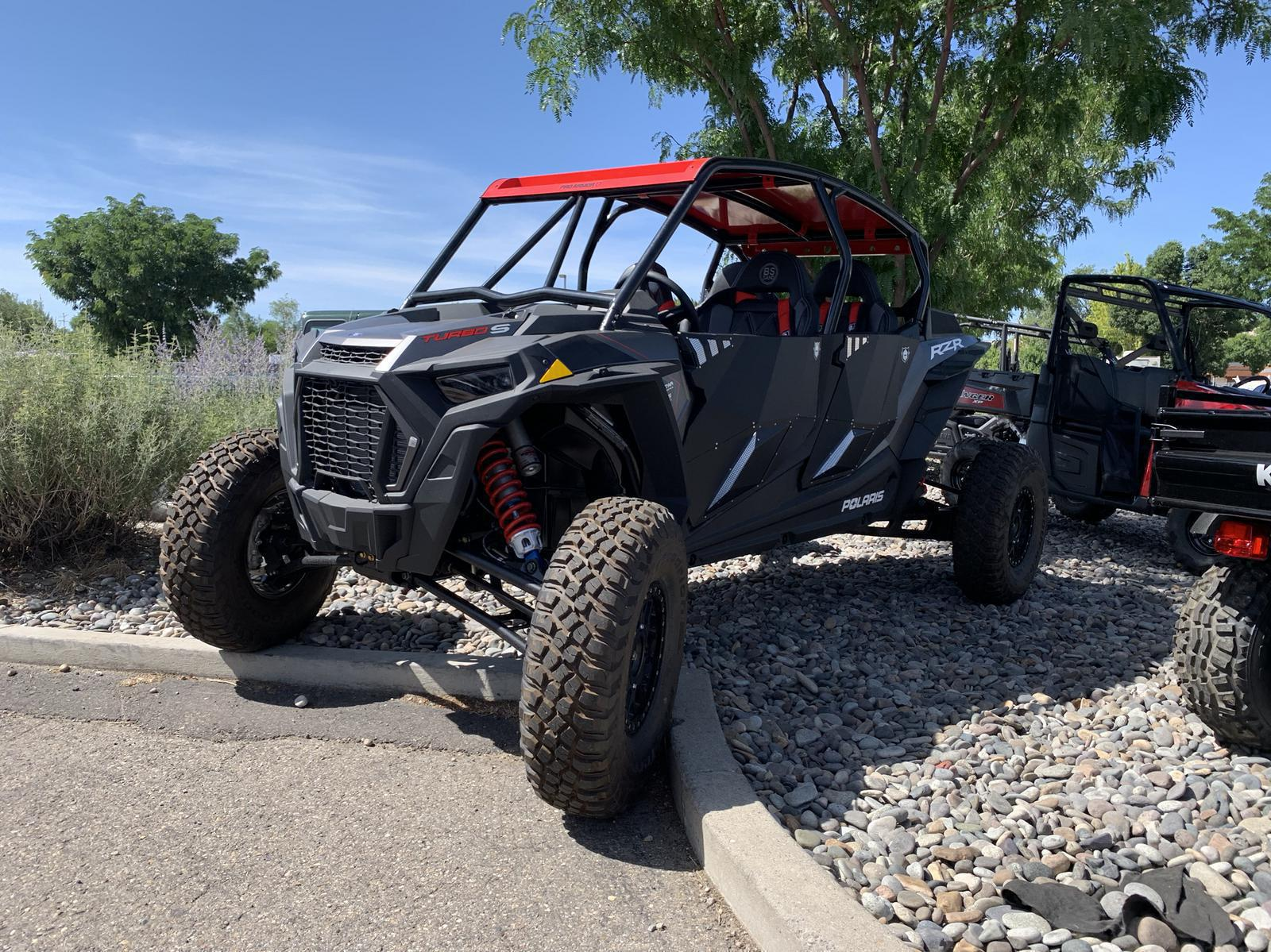 2019 Polaris Industries RZR XP® 4 Turbo S Velocity Pro Armour Build