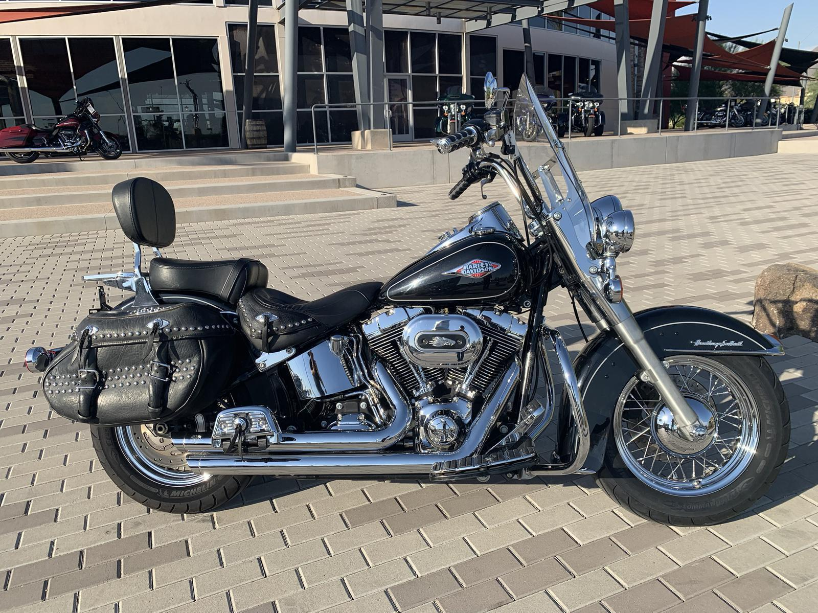 2013 Harley-Davidson® Softail Heritage Softail Classic for