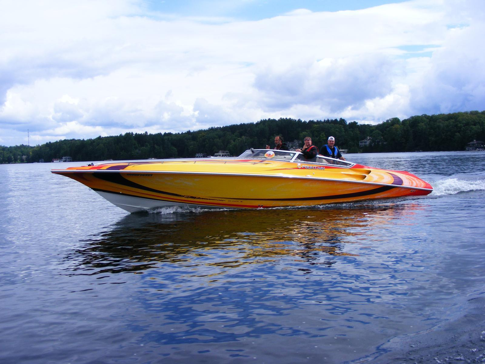 2007 Fountain 35 lightning for sale in Bobcaygeon, ON. Birch Point ...