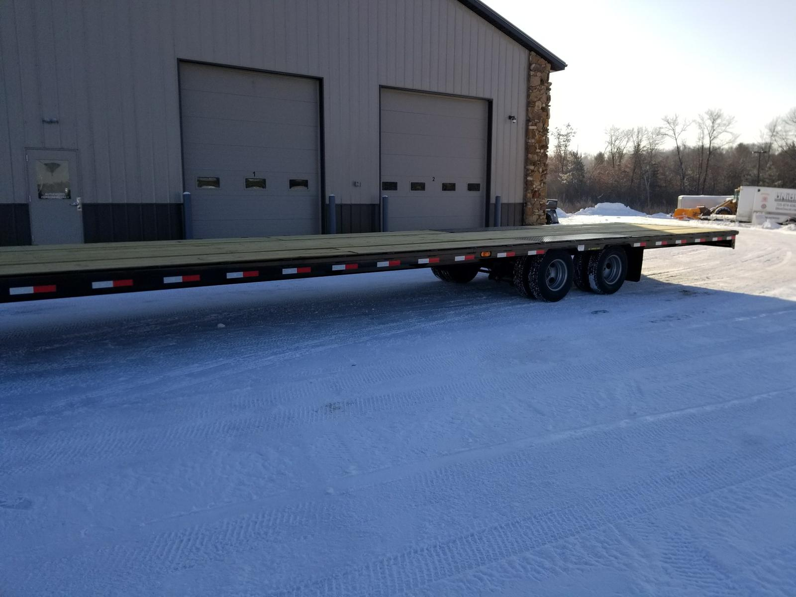 2019 Big Tex Trailers 22gn 102 X 40 239k Straight Deck Gooseneck Double Car Trailer 24 Foot Flatbed Previous