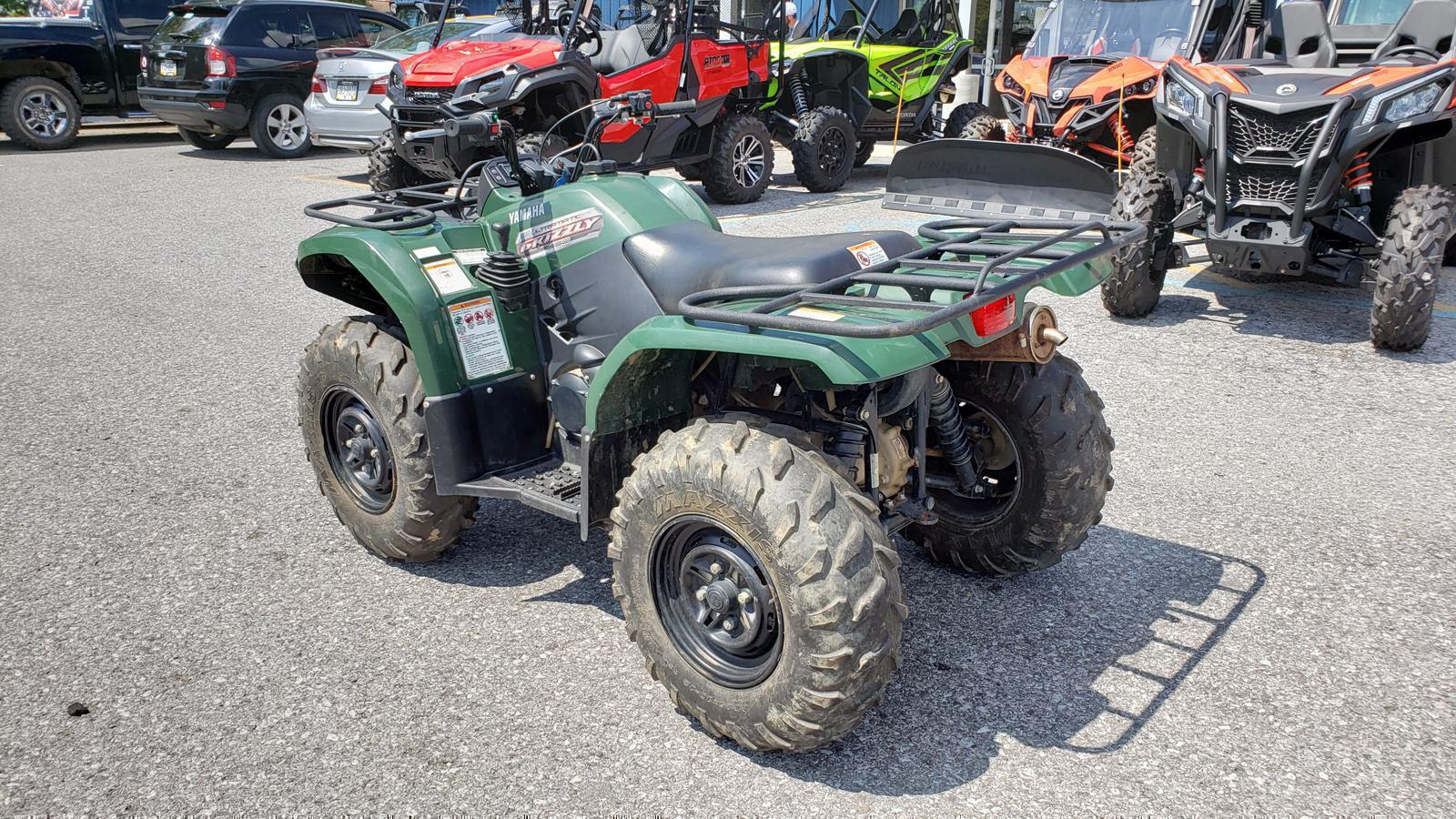 2012 Yamaha Grizzly 450 Auto  4x4 - Hunter Green for sale in