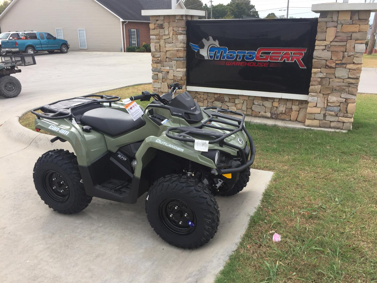 2017 can am outlander 570 for sale in shelbyville tn motogear warehouse 931 735 6686