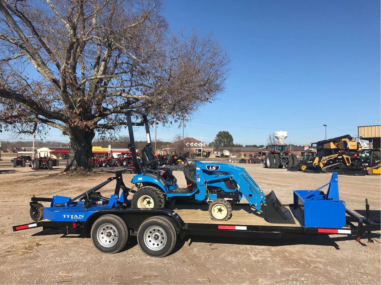 2019 LS Tractor MT125-24 7HP Package Deal