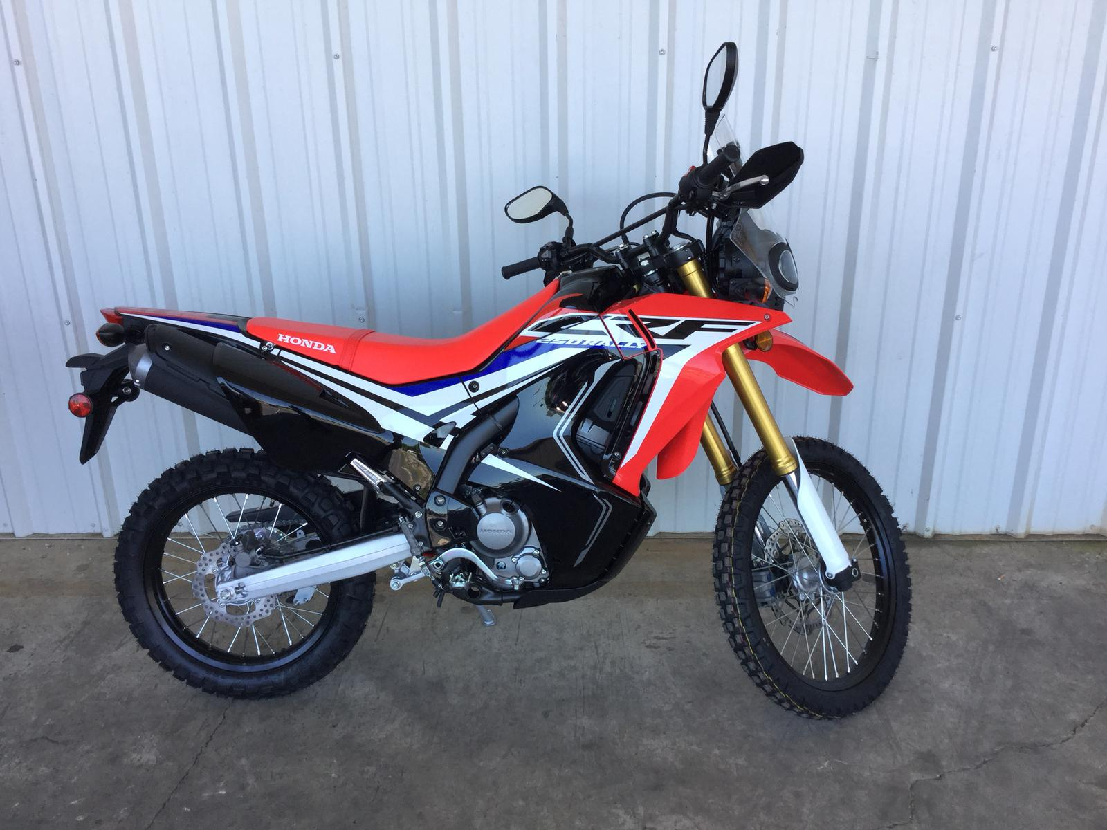 2017 honda crf250l rally for sale in gastonia, nc | ms powersports