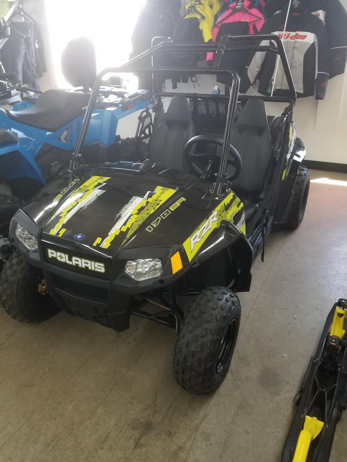 2019 Polaris Industries RZR® 170 EFI - Lime Squeeze/Cruiser Black