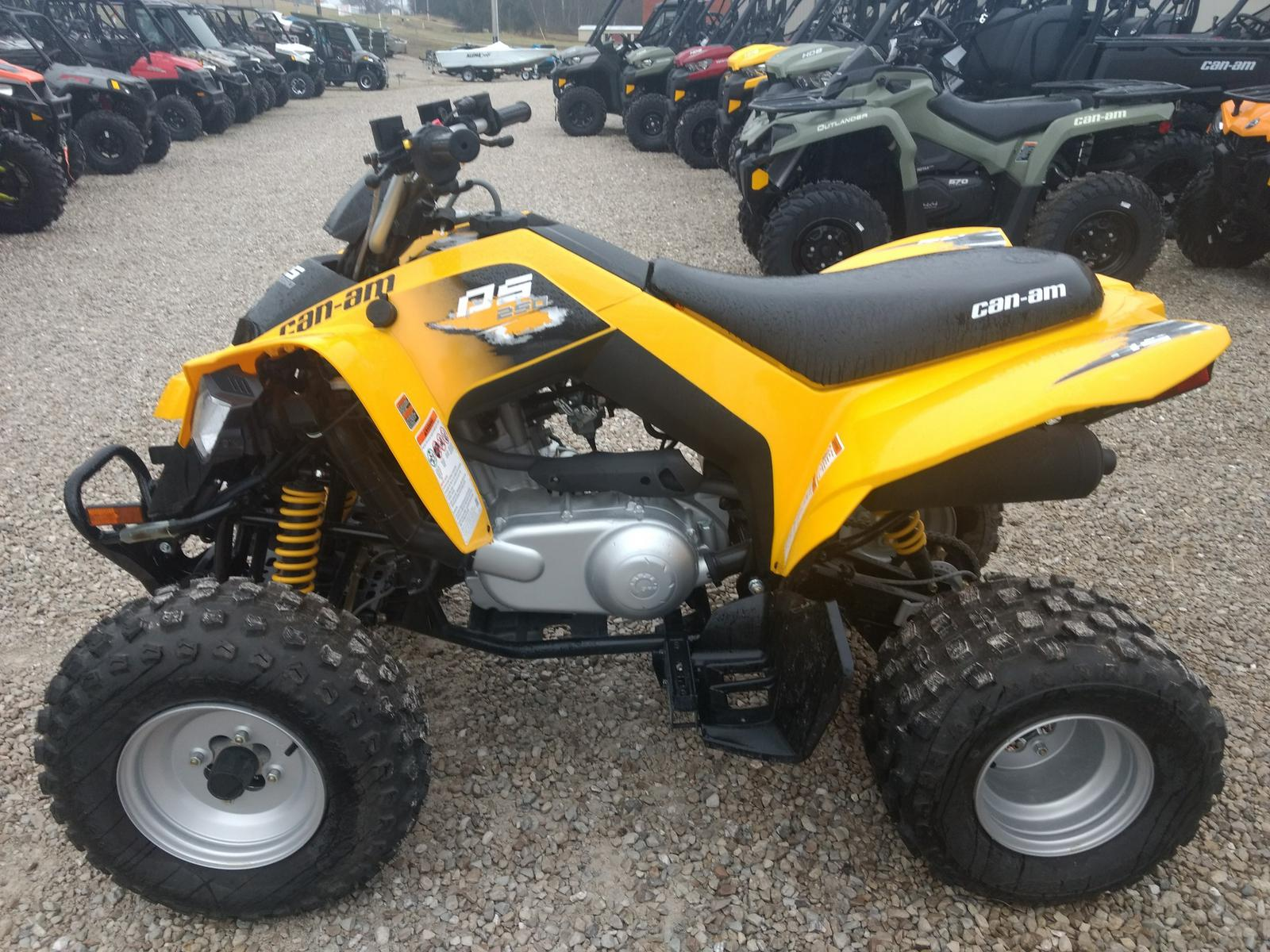 Can Am Atv >> 2019 Can Am Atv Ds 250 Y 19