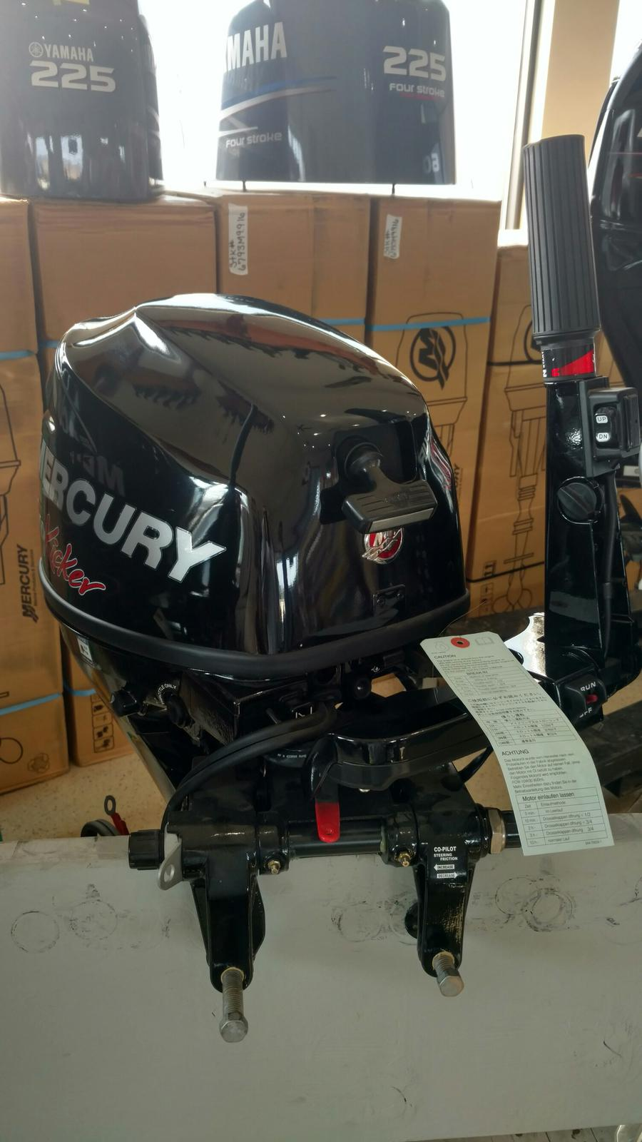 2015 Mercury FourStroke 9 9 HP ProKicker - 20 in  Shaft for sale in
