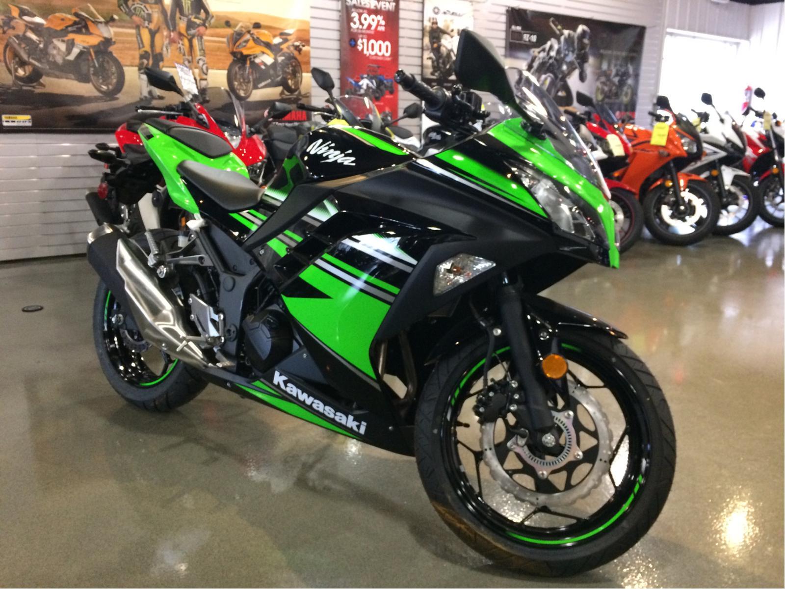 2016 Kawasaki Ninja 300 Abs For Sale In Urbana Il Sportland