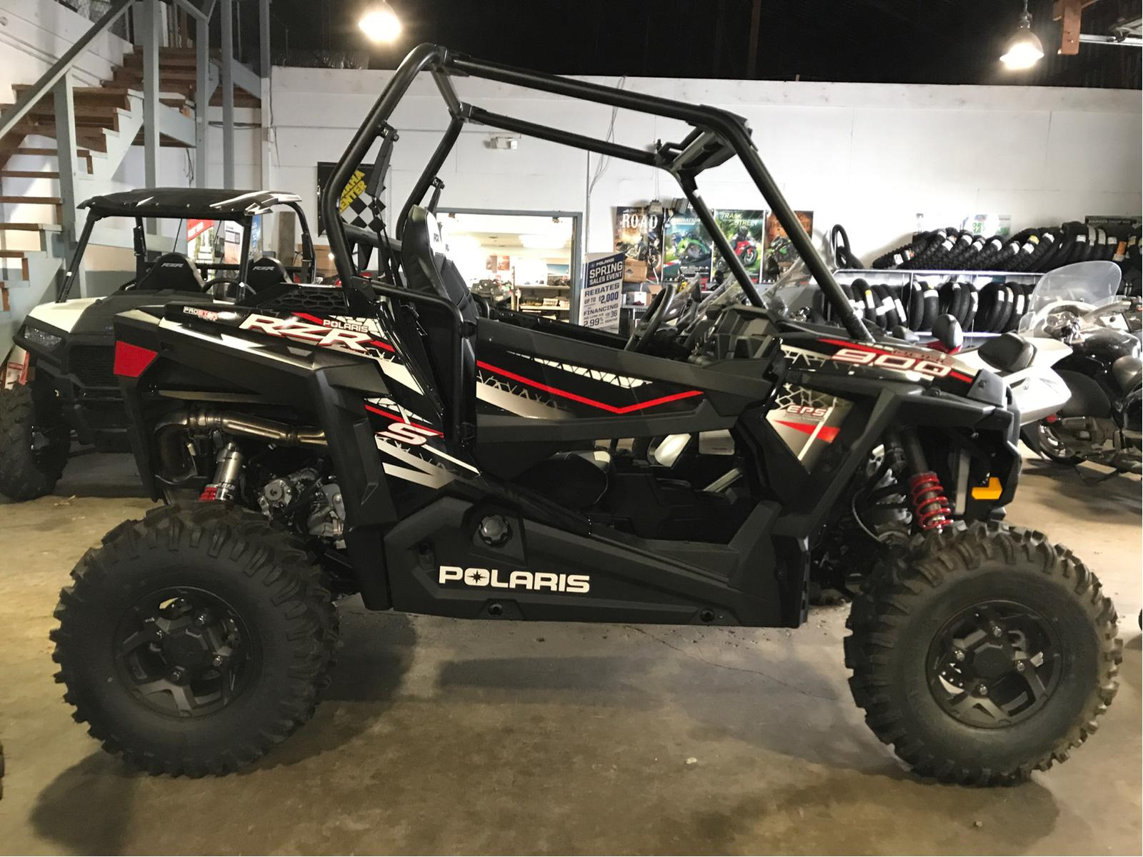 2017 Polaris Industries RZR S 900 EPS Black Pearl