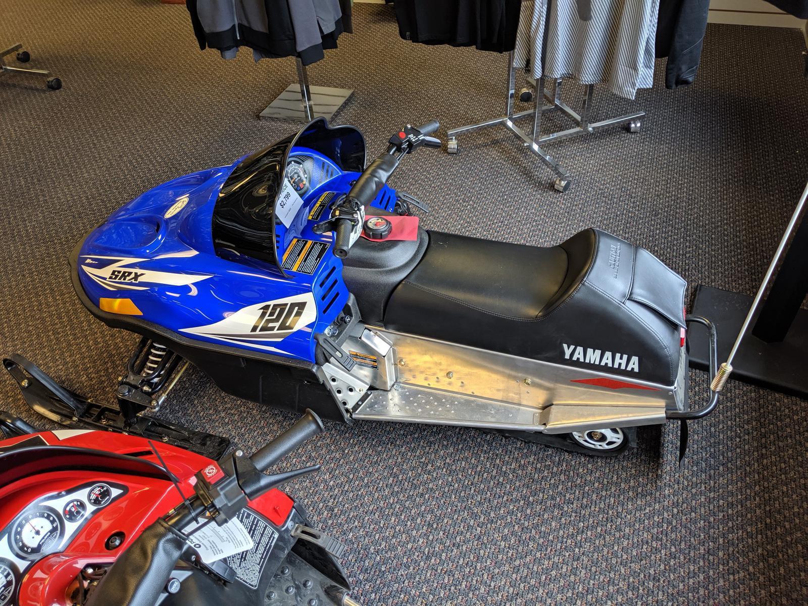2017 Yamaha SRX 120