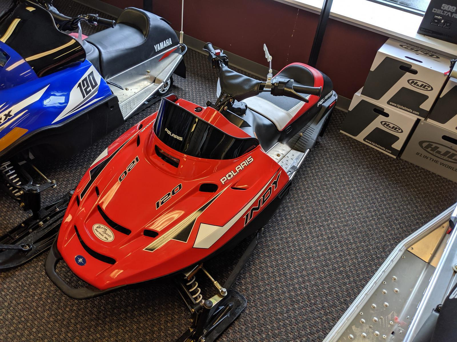 Snowmobile from Polaris Industries Action Sports Marshall