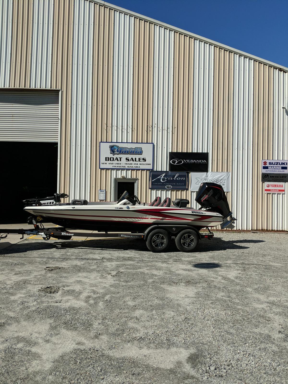 2019 Triton Boats 18 TrX w/ Mercury 200L 4S Pro XS for sale in