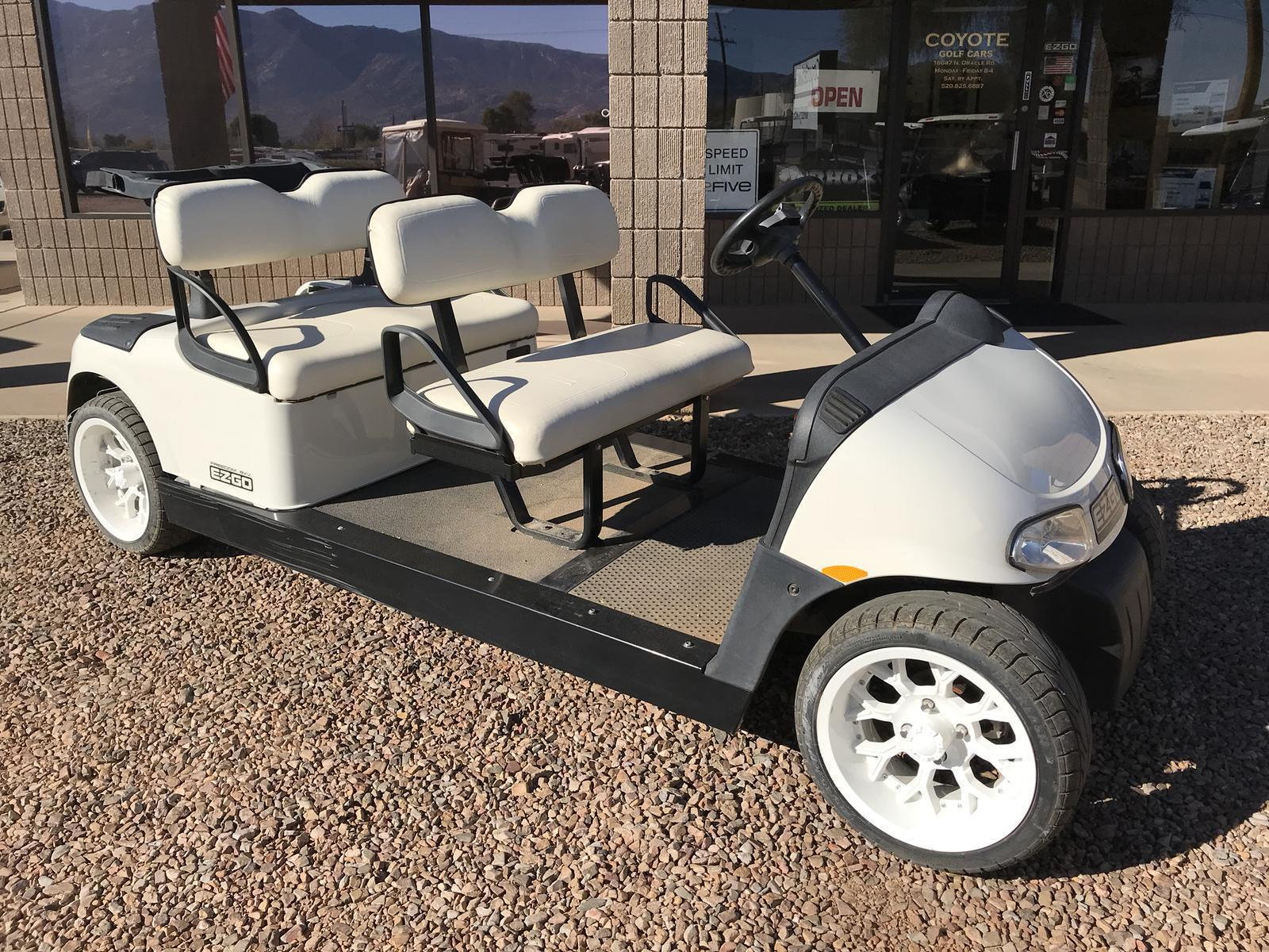 2013 E-Z-GO RXV Stretch for sale in Tucson, AZ. Coyote Golf Cars on lincoln on a rail cart, 2013 ezgo txt, 2013 ezgo electric golf cart,