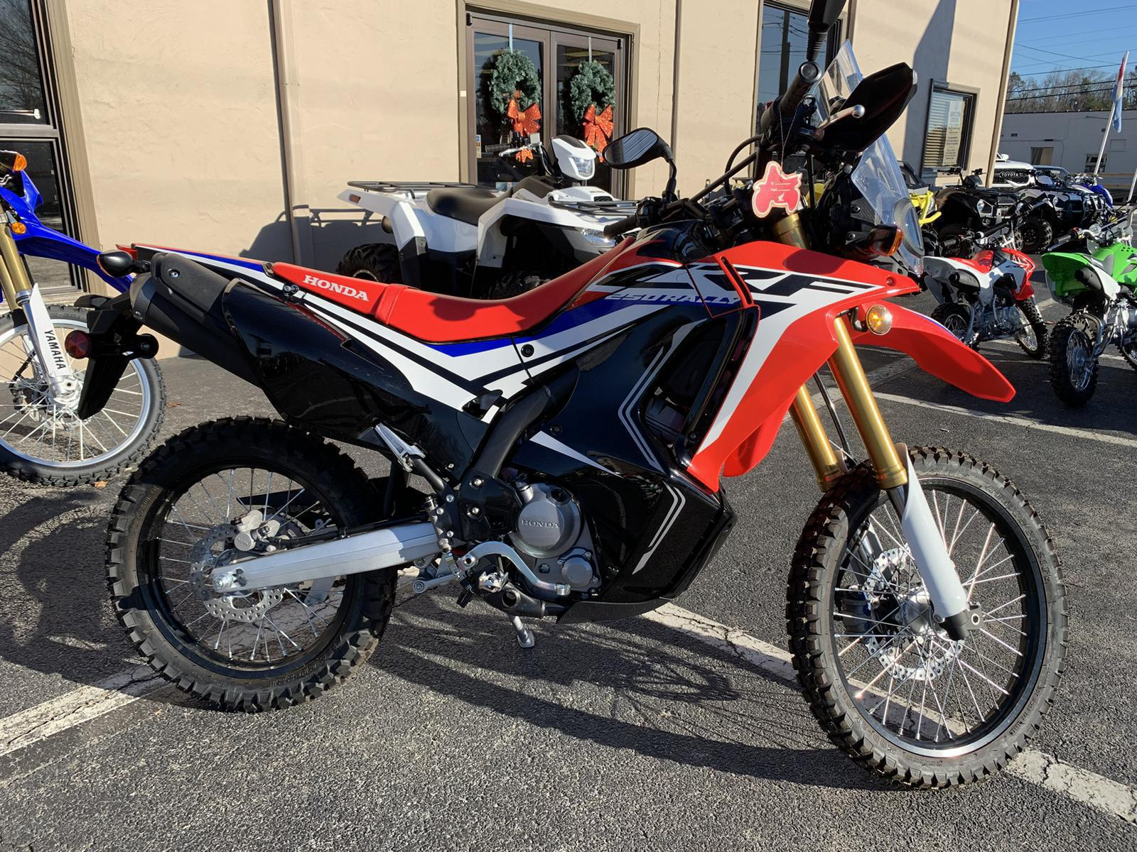 2017 Honda Crf250l Rally For Sale In Danville Va Triangle Cycles