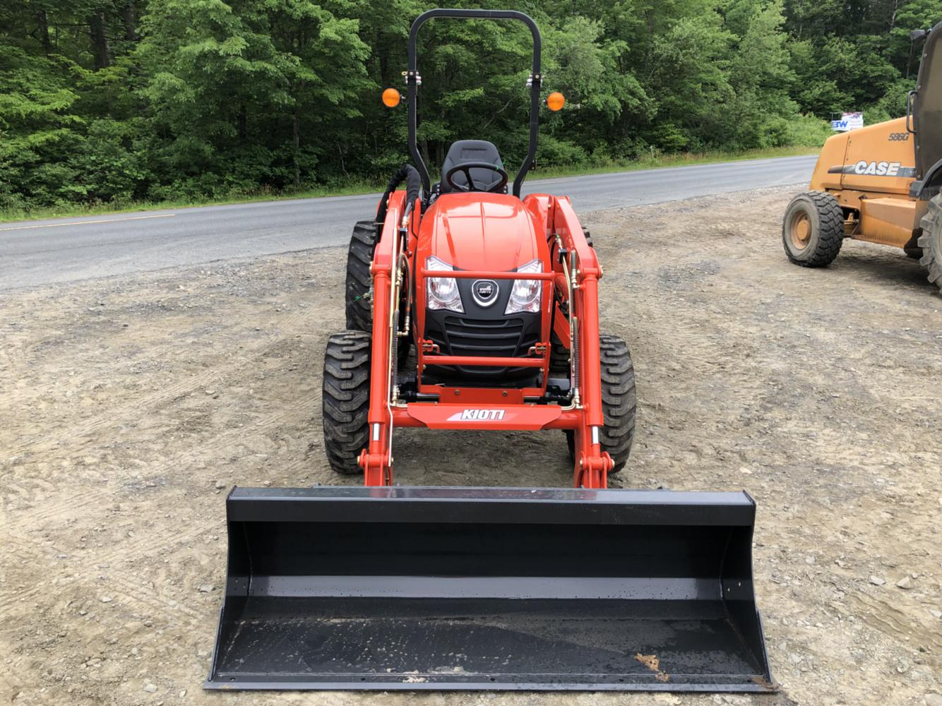 Kioti CK2610 Manual/HST 4wd Tractor Loader for sale in