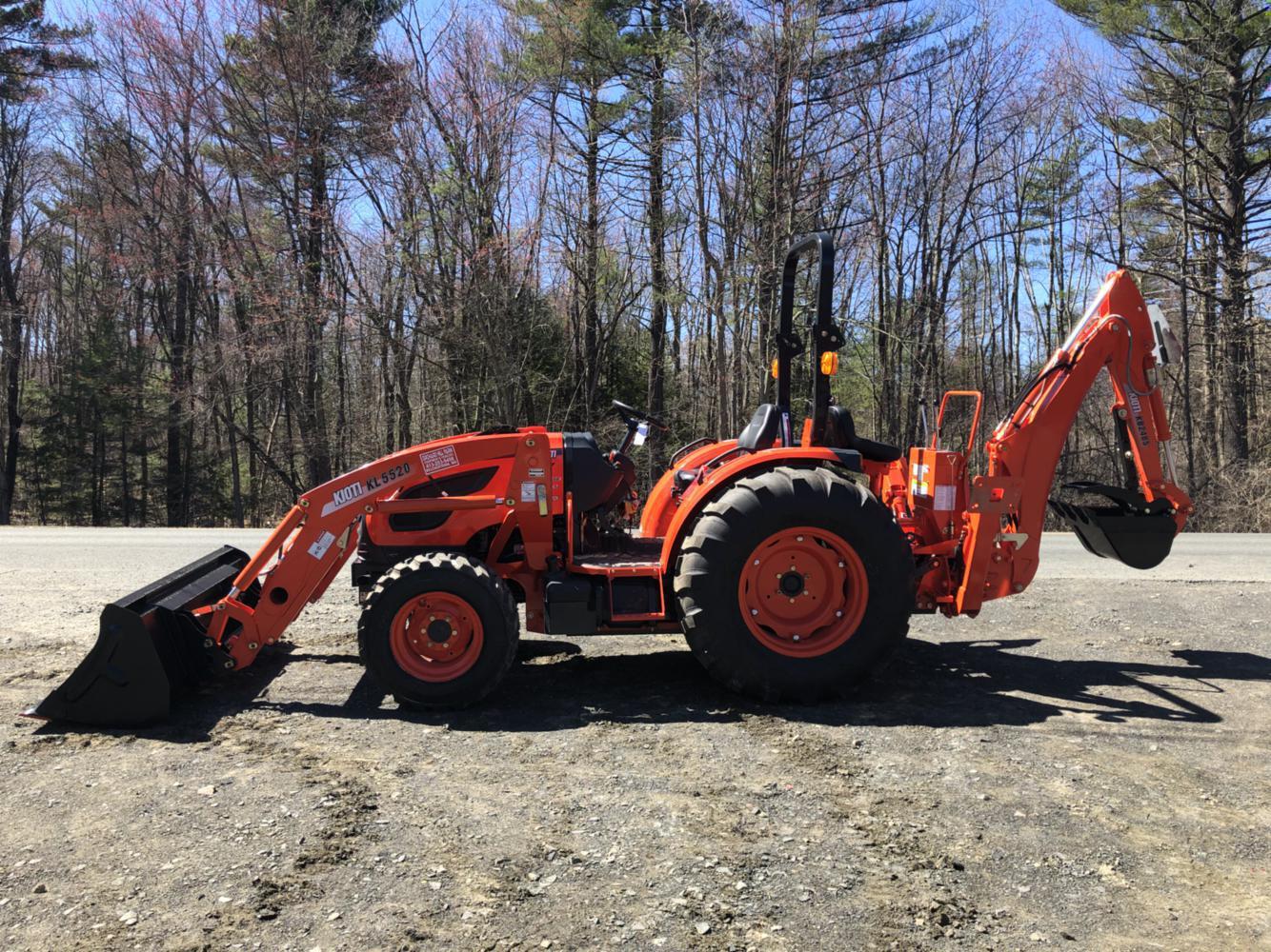 Kioti DK4210SE HST Tractor w/ Loader & Backhoe for sale in