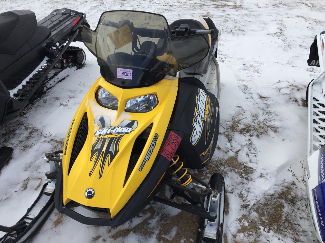 2007 Ski Doo MXZ 500 SS REV For Sale In Mecosta MI Lakeside Motor