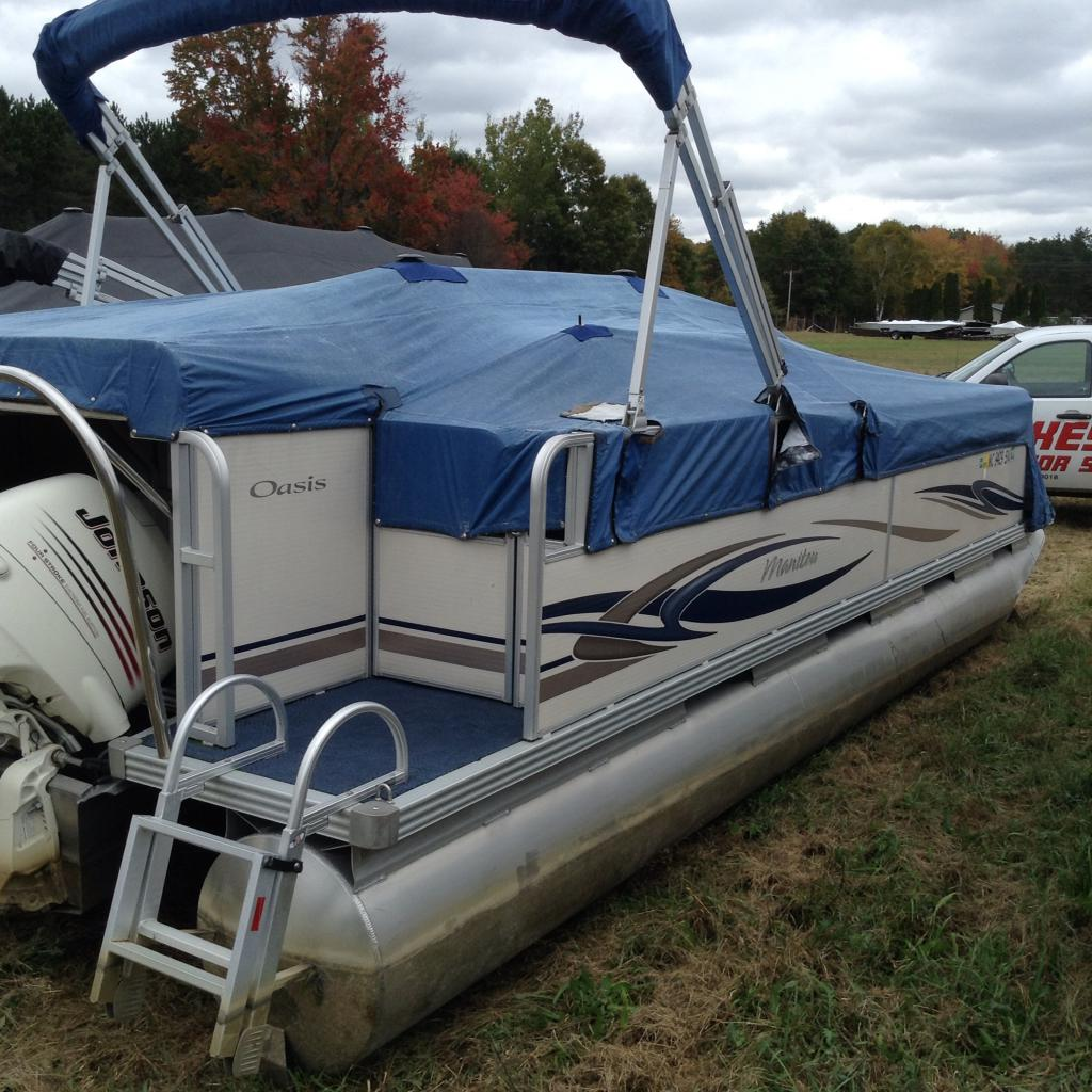 Pontoon Boats From Manitou Lakeside Motor Sports Mecosta Mi 888
