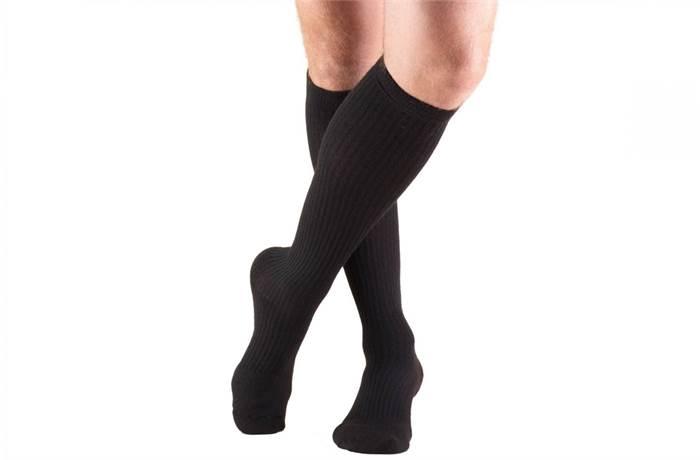 d37435de8 1934 20-30 MMHG KNEE HIGH CASUAL CUSHION FOOT MEN