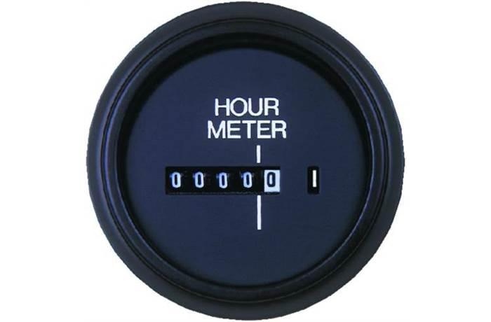 Hourmeters in Engine