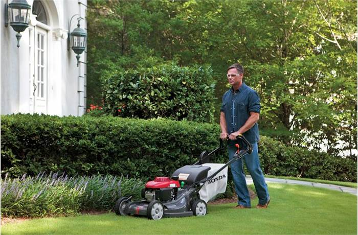 HRX Premium Residential Lawn Mowers Honda Power Equipment