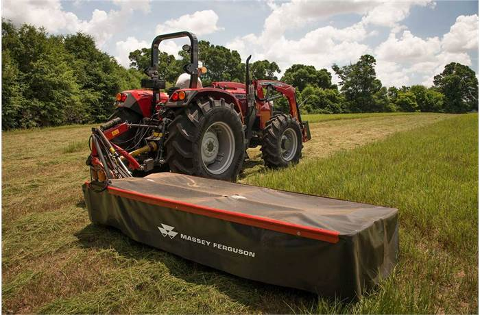 New Massey Ferguson Agricultural Mowers - DM Series Mowers Models ...