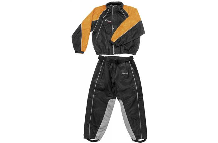 21cafce7a270f Hogg Togg Rainsuit with Heat-Resistant Inner Leg Liner. Frogg Toggs